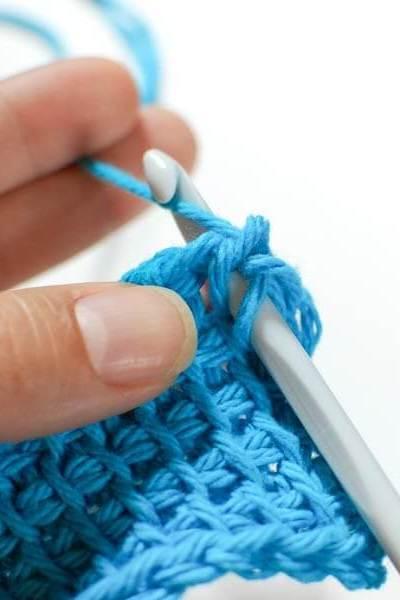 How to do Tunisian Knit Stitch