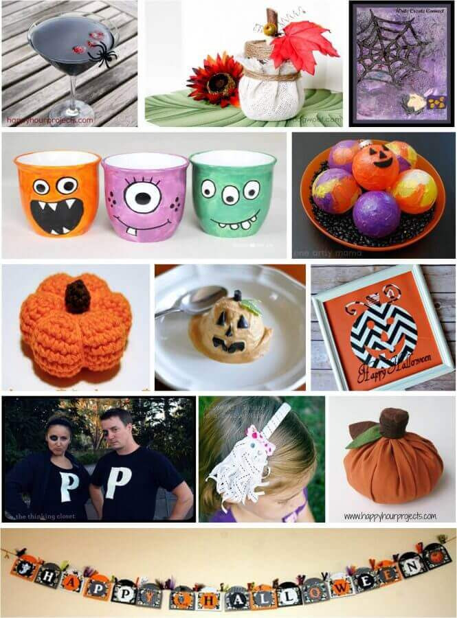 Free eBook - 12 Halloween Tricks & Treats from #MyFavoriteBloggers