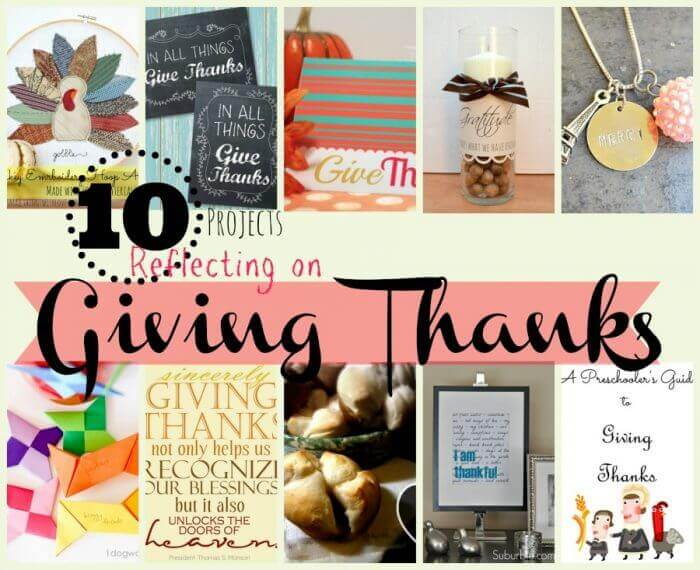 10 thankful projects
