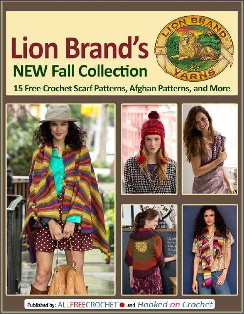 Lion Brand crochet ebook