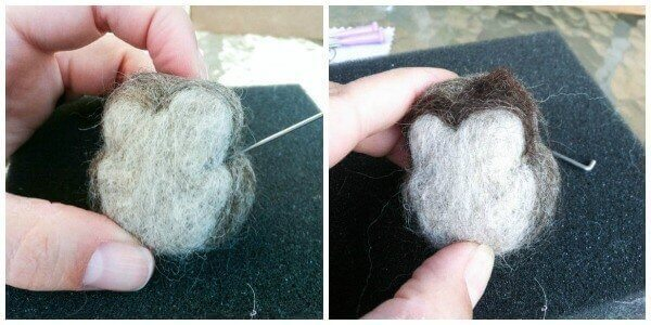 How to Make a Needle Felted Owl {Photo Tutorial}   www.petalstopicots.com
