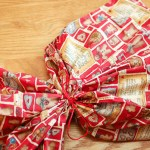 How to Make Reusable Fabric Gift Bags