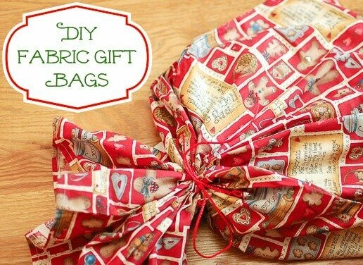 How to Make Reusable Fabric Gift Bags | Petals to Picots
