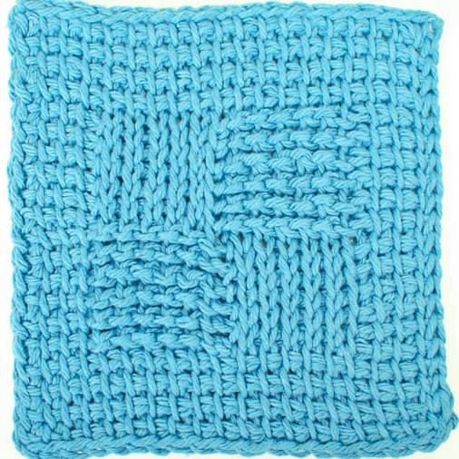 Sampler Washcloth Tunisian Crochet Pattern Petals To Picots