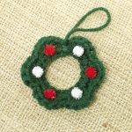 Little wreath crochet pattern