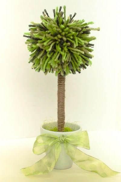 Pom Pom Topiary