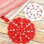 Crochet Pot Holders … 2 Free Crochet Potholder Patterns (also make great nonstick pan protectors!)