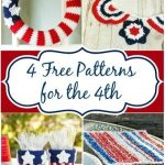4 Patriotic Crochet Patterns to Celebrate the 4th