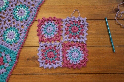 Joining Crochet Motifs with Edie Eckman