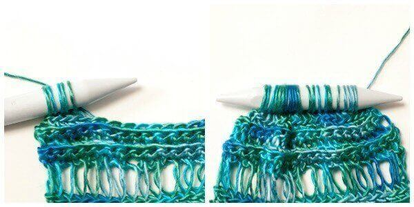 How to Crochet Broomstick Lace | www.petalstopicots.com