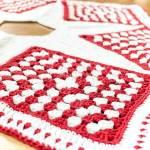 Crochet Christmas Tree Skirt Pattern — Part 3: The Edging