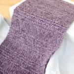 Luxurious Knit Scarf Pattern