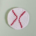 Crochet Baseball Cork Board Pattern