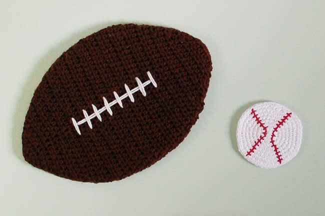 Crochet Baseball Cork Board Pattern Petals To Picots