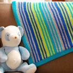 "Knit Baby Blanket Pattern – The ""Grow With Me"" Blanket"