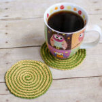 summer spiral crochet coasters (2 of 2)