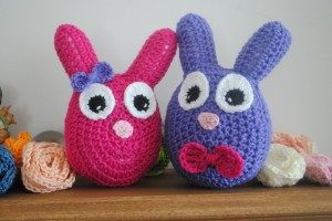 Easter Bunny Stuffy by Cre8tion Crochet