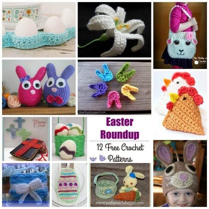 12 Free Easter Crochet Patterns