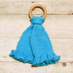 Teether Lovey Crochet Knit Pattern (2 of 3)