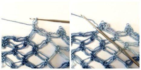 Adding Beads to Crochet - Step 2 | www.petalstopicots.com