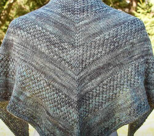 Textured Shawl Recipe by Orlane Designs