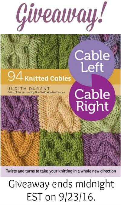 Win a copy of the new release Cable Left, Cable Right. Giveaway ends midnight 9/23/16.
