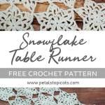 Easy Crochet Christmas Table Runner Patterns Free