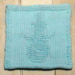 Snowman Tunisian Crochet Dishcloth … January Finale