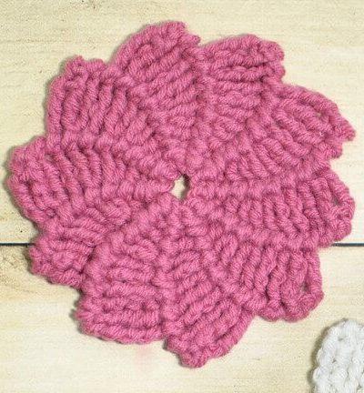 Swirl Flower Crochet Pattern