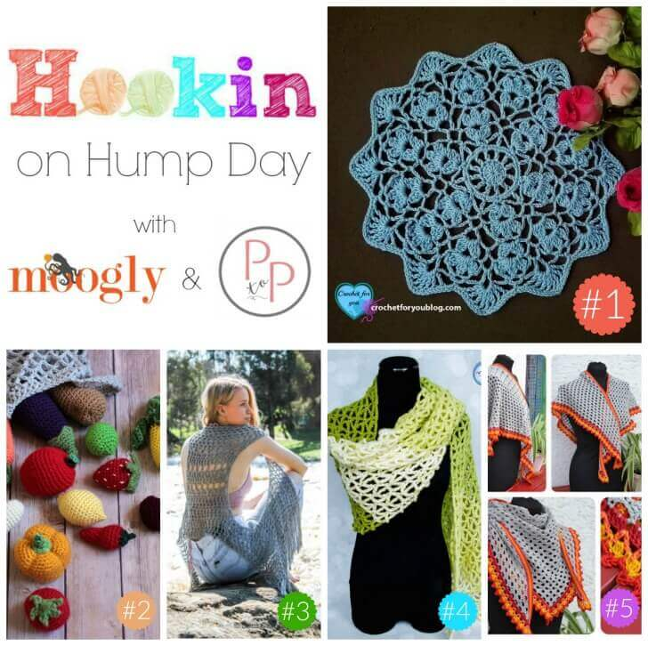 Hookin' on Hump Day #143: Link Party for the Fiber Arts | www.petalstopicots.com | #crochet #knit