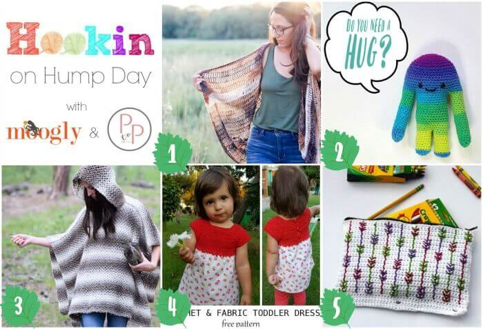 Hookin' on Hump Day #150: Link Party for the Fiber Arts #crochet #fiber #knit