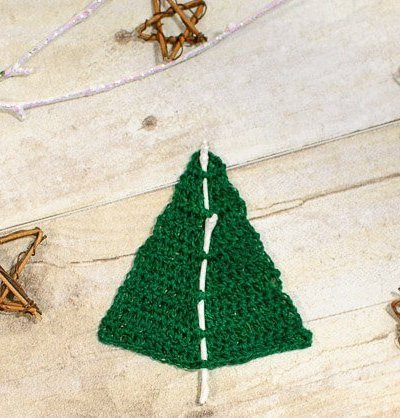 Woodland Christmas Tree Crochet Pattern