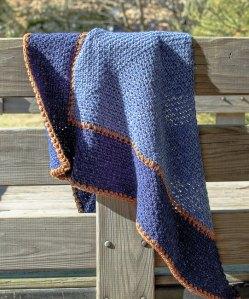 Weekender Shawl Crochet Pattern | www.petalstopicots.com