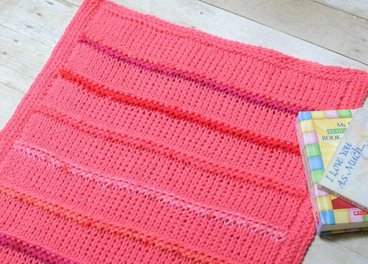 Tunisian Crochet Blanket Pattern ... Customize to Any Size! www.petalstopicots.com