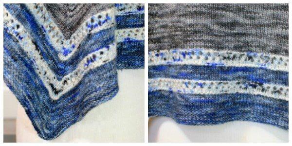 Stormy Seas Knit Shawl Pattern | www.petalstopicots.com