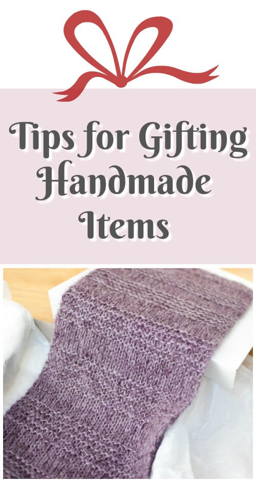 As you prepare your handmade gifts during the holiday season and throughout the year, take a few simple steps to safeguard your hard work and to help your recipient know how to properly care for the item for years to come. Here are some handy tips for gifting handmade items ... #petalstopicots