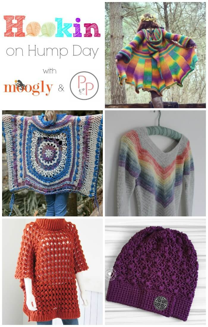 See what's trending in the fiber ... we've got lots of great projects this week on Hookin' on Hump Day! #petalstopicots
