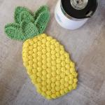 Pineapple Crochet Hot Pad Pattern Petals To Picots