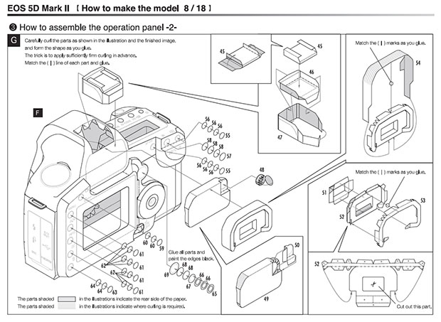 Print and Build Your Own Highly Detailed Paper Canon Cameras