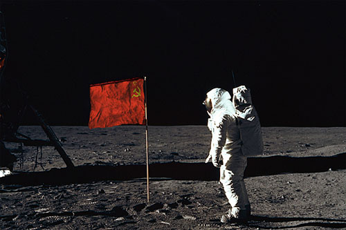 USSR Man on the Moon