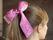 print hair ribbon