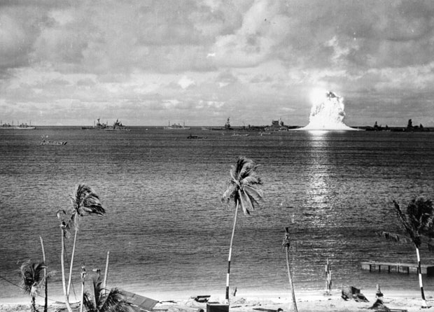 Photos from the Worlds First Underwater Nuclear Explosion crossroadsbaker 2