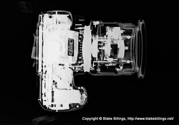 X ray Photographs of Various Cameras nikond60 copy