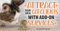 Attract Your Ideal Cat Clients With Add-On Services