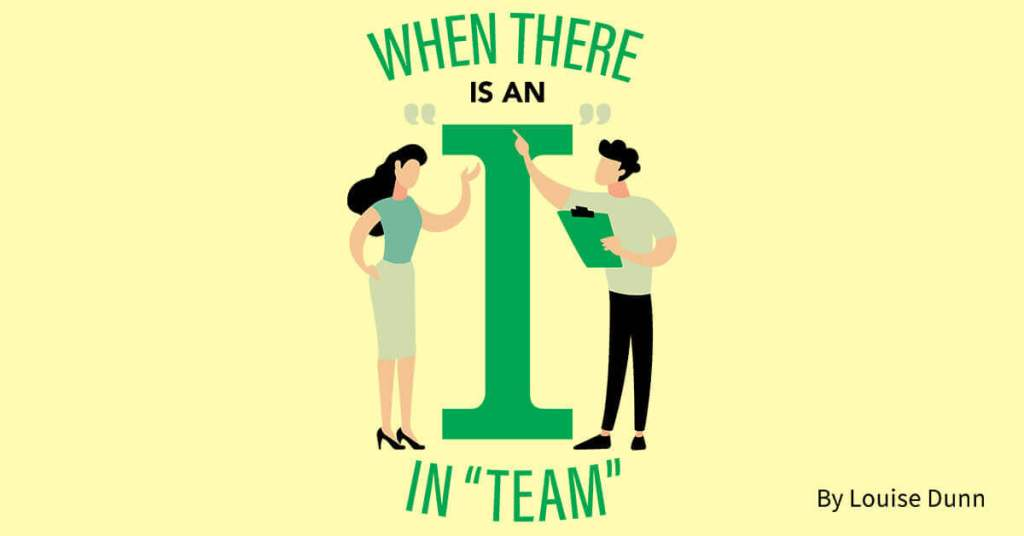"""When There Is an I in """"Team"""""""