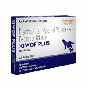 Kiwof Plus Dog Dewormer  Tablets