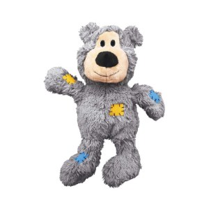 Kong Wild Knot Bear Squeaky Toy For Dogs
