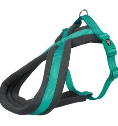 walk your dog in comfort with the trixie premium touring harness a fleece padded harness built with nylon for durability and buckles for easy use  [ 889 x 889 Pixel ]