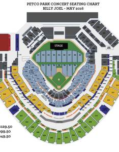 Billy joel concert seating chart also at petco park may insider rh petcoparkinsider