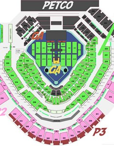 Taylor swift seating chart also at petco park concert setlist insider rh petcoparkinsider